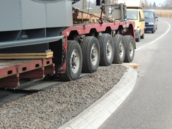 Fahrplatte Performance Flächenschutz Schwertransporter