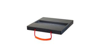 Containerplatte Abstützplatte Ausfräsung Abrollcontainer
