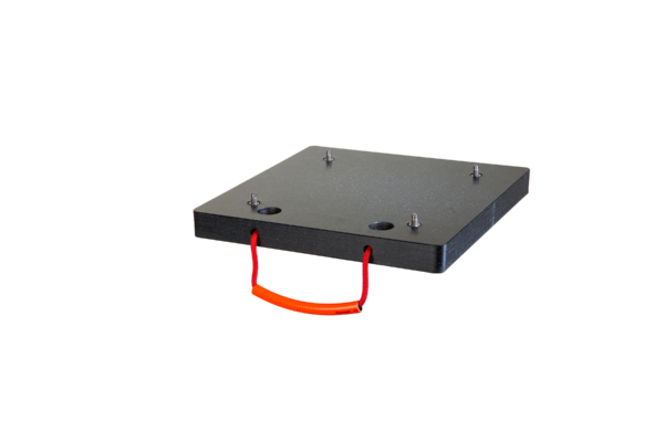 Abstütztechnik Abstützplatte Spikes