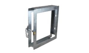 Abstütztechnik Singleplattenbox feuerverzinkt