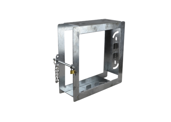 Abstütztechnik Doppelplattenbox feuerverzinkt