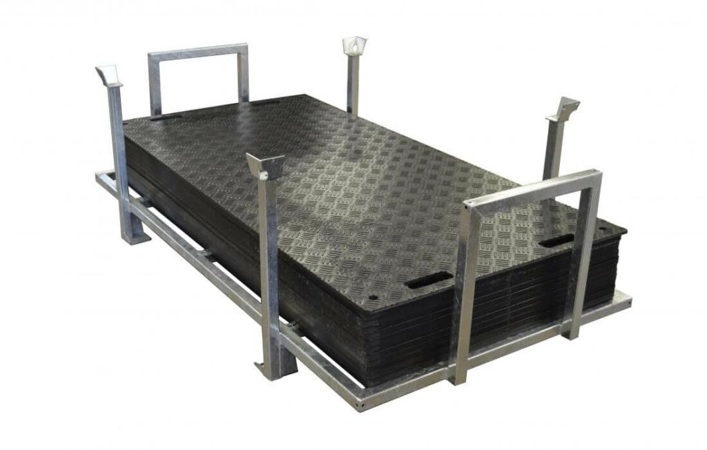 Bodenschutzplatte Flex im Set