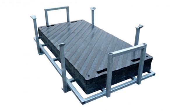 Flächenschutz Fahrplatte Grip Set