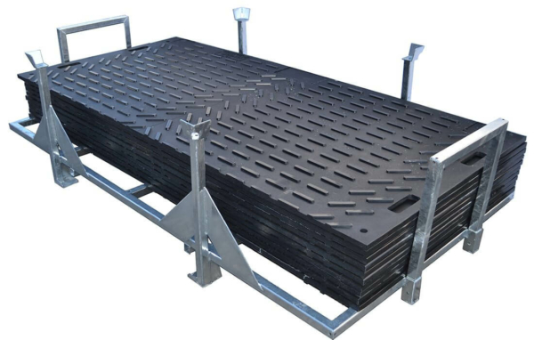Flächenschutz Fahrplatte Professional Set