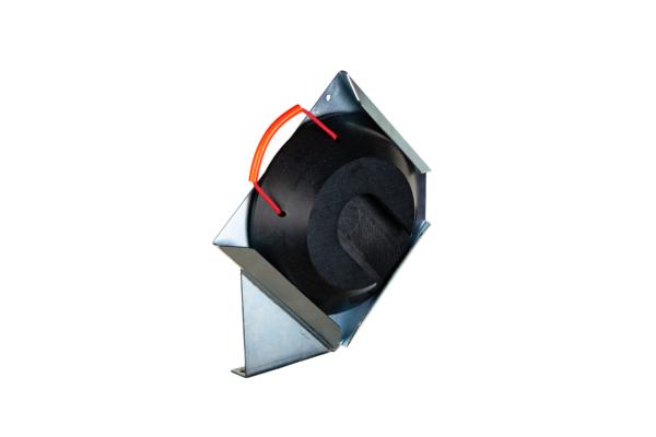 Steckplattenhalter links für Steckplatte rund