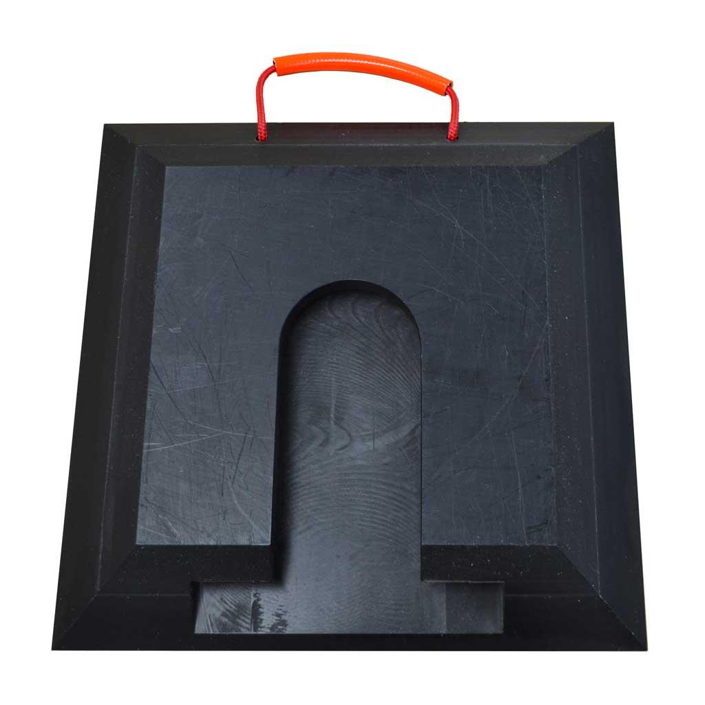 Abstütztechnik Steckplatte Performance Quadratisch