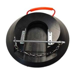 Abstütztechnik Stützfußarretierung galvanisch verzinkt