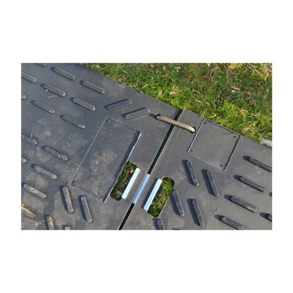 Flächenschutz Fahrplattenverbinder Anwendung