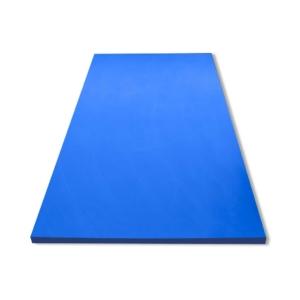 Kunststoffhalbzeuge blau