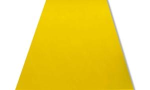 Kunststoffhalbzeuge gelb