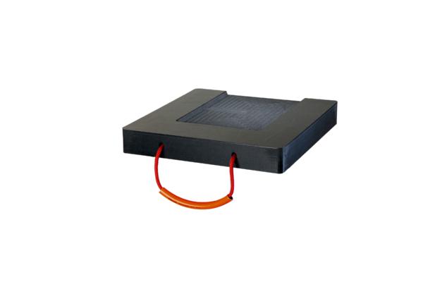 Abstützplatte Performance mit Ausfräsung