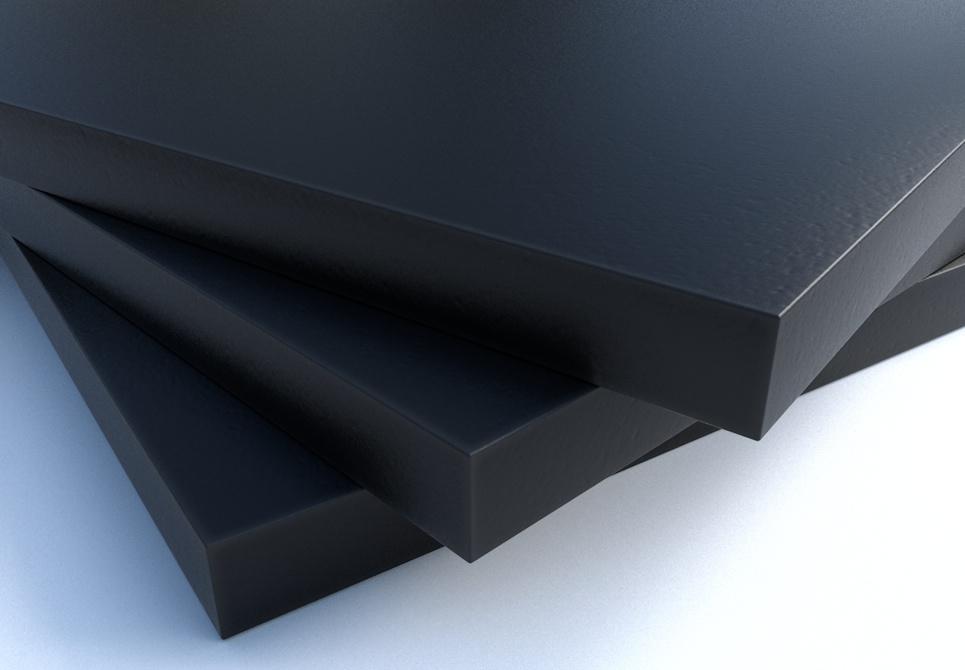 LuxTek Halbzeug schwarz