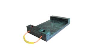 Abstütztechnik Containerplatte