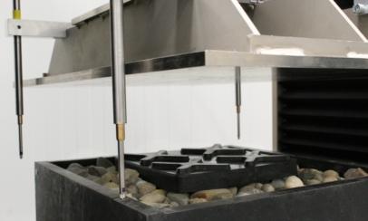 Materialprüfung Schotter