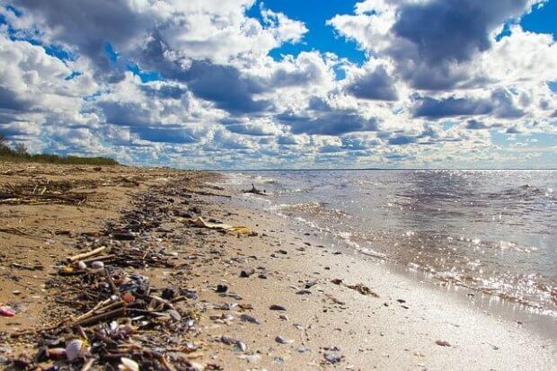 Meeresabfall Kunststoff